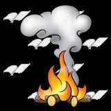 Camp Fire clipart smoke Art Abeka Smoke Smoke Clip
