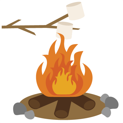 Campfire clipart clear background Clip 42 Art Marshmallow art