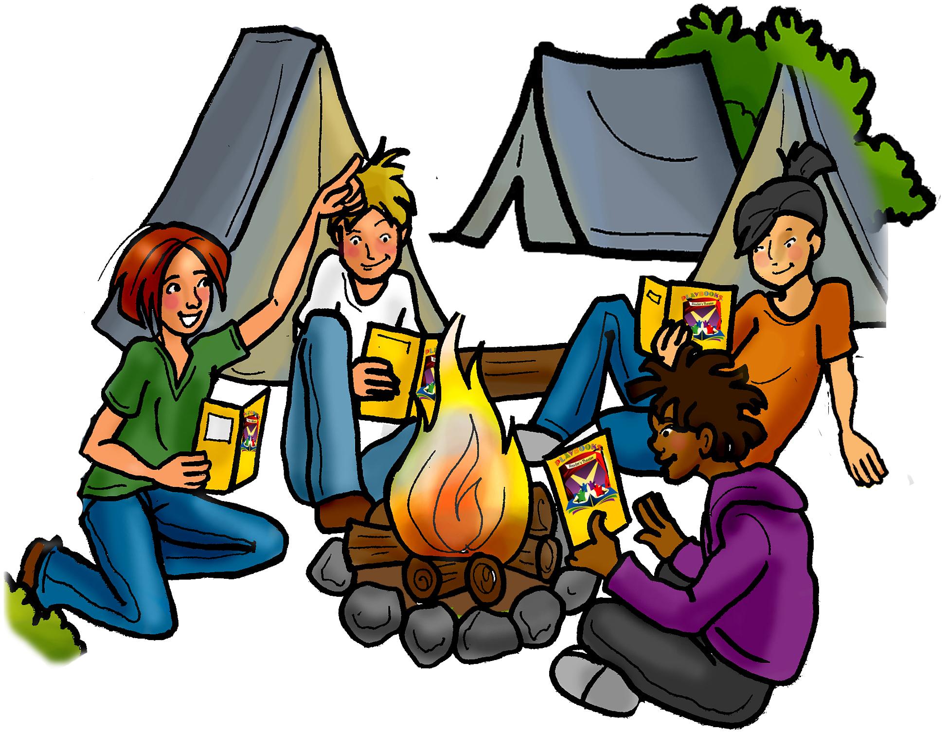 Camping clipart school camp Art clipart Clip Cliparts kid
