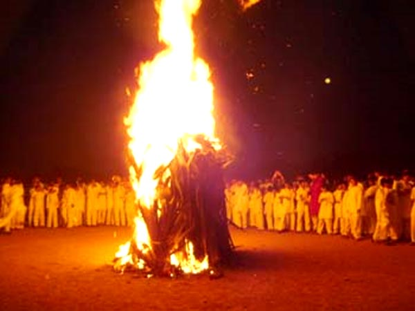 Bonfire clipart holi Kingdom Dhundhi called of there