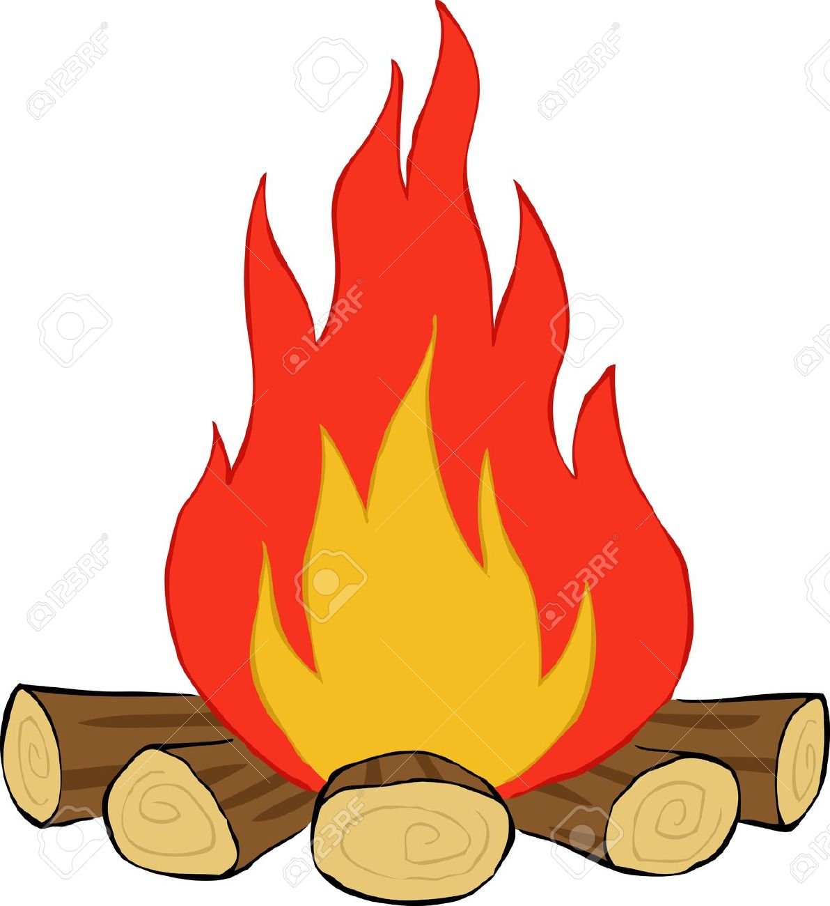 Timber clipart wood background Log fire clipart fire clipart