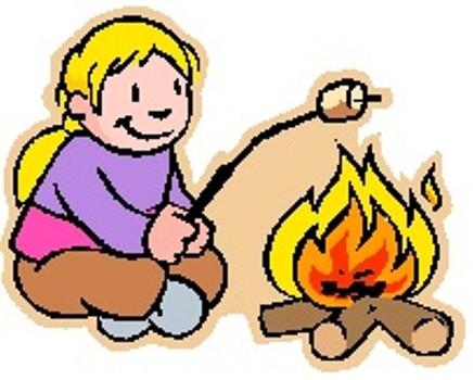 Warmth clipart bonfire Campfire Marshmallow Clipartion Free Clip