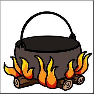 Campfire clipart school camp 1 Color Campfire Clip abcteach