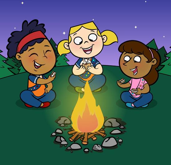 Campfire clipart sing along Along sing of Huron sing
