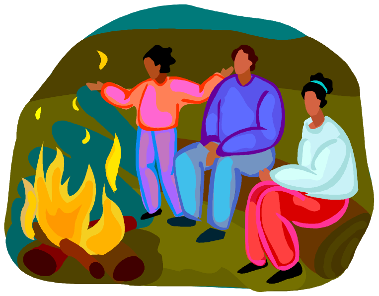 Campfire clipart sing along Evening Westminster Along the Sing