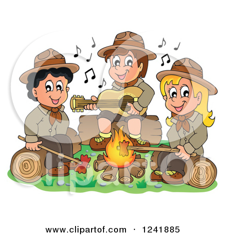 Campfire clipart sing along #13 Tiny Clipart Clipart 98