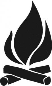 Campfire clipart vector Art Download Clip Camp Campfire