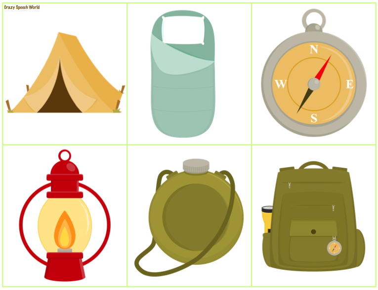 Camper clipart camping gear Camping a illustrations Clip Reply