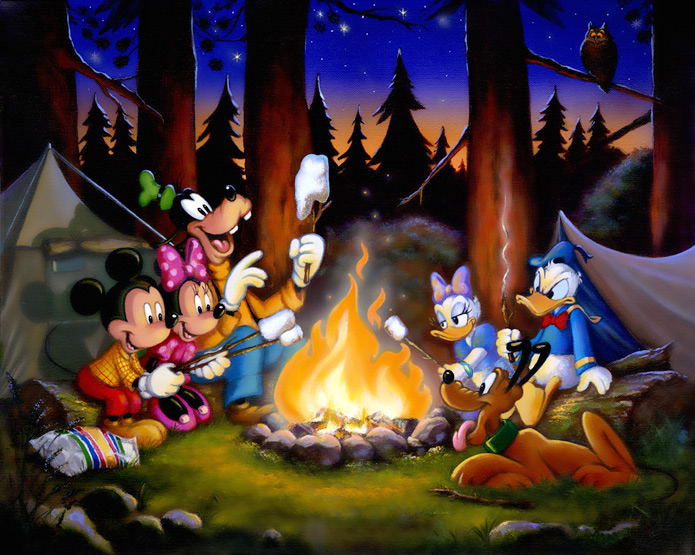 Camping clipart disney By & Acme  Fire
