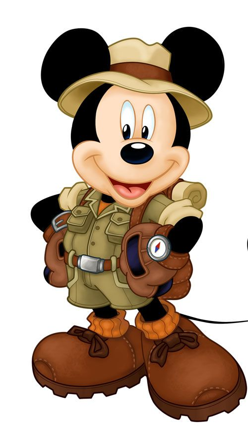 Camping clipart disney Best images 79 Mickey Pinterest