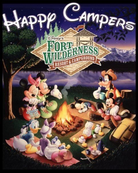 Camping clipart disney Fort 483x604 Disney's Wilderness!! camping