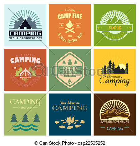 Camping clipart expedition Camping  of adventure and