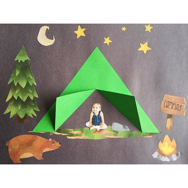 Camping clipart kids day Pinterest of Gone Best on