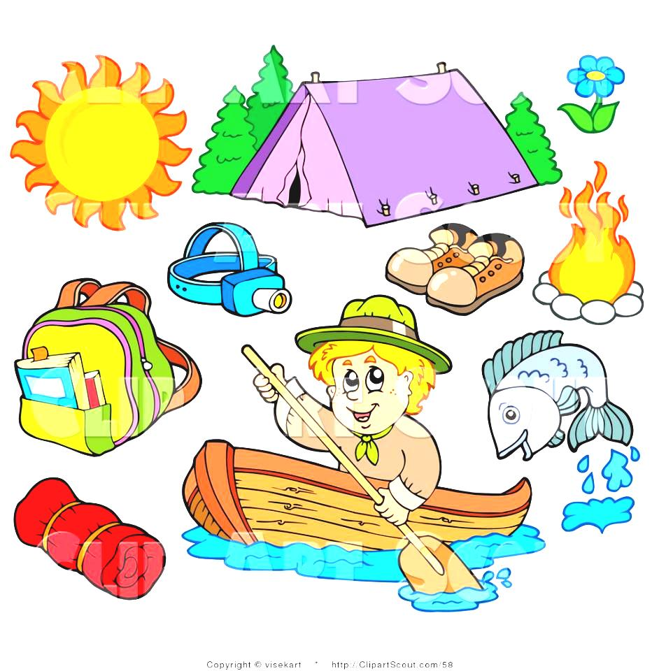 Camping clipart kids sport Of Kid Ourdoor Of World