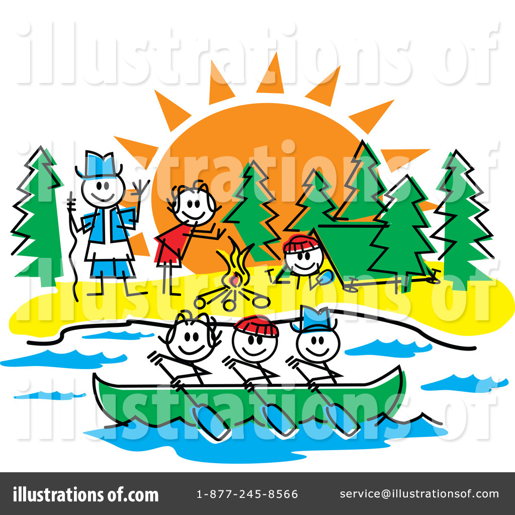 Camping clipart sightseeing Camping Free  Stock Art