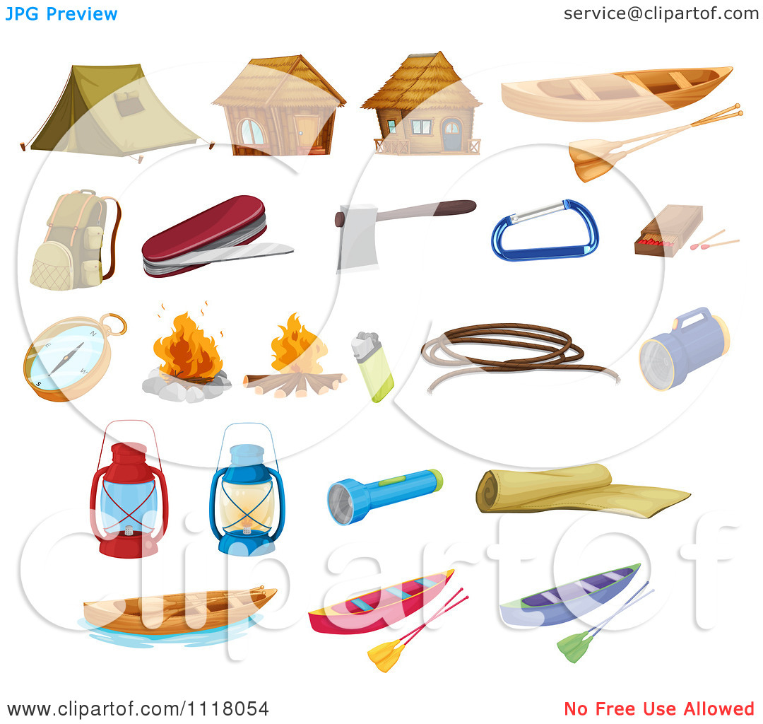 Camping clipart survival kit Tools Camping Clipart cliparts Survival