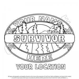 Camping clipart survivor Pages Pinterest Scouting survivor Logos