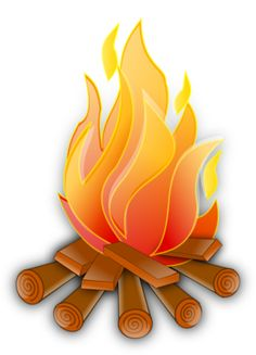 Camp Fire clipart front Of scout clipart graphics Kid