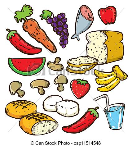 Drawn meal Download  healthy Free Clipart
