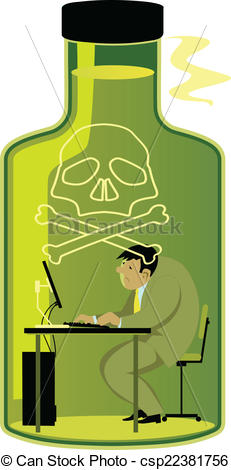 Can clipart toxic Work  Sad Clipart on