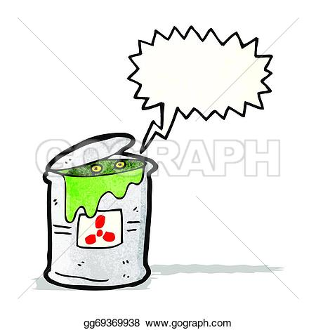 Can clipart toxic Stock in waste Art toxic