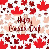 Canada clipart canada day Card GoGraph Canada Art Happy