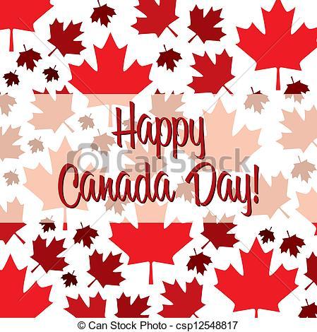 Canada clipart canada day In csp12548817 card Art Happy