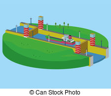 Canal clipart Clipart Download clipart drawings #19