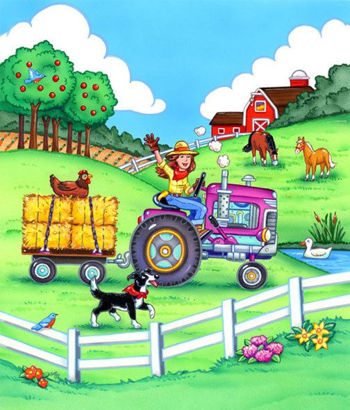 Countyside clipart rural life On images ❤ best Country