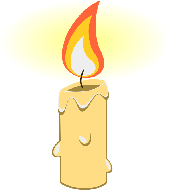 Candle clipart #1
