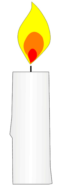Candle clipart #14