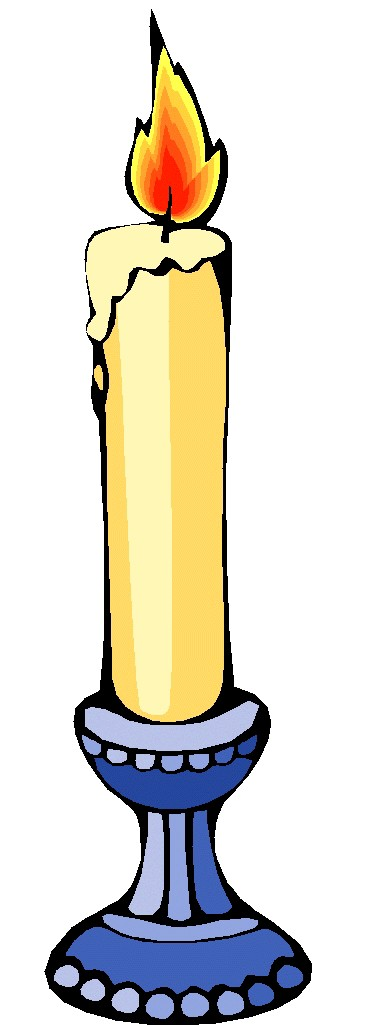 Candle clipart #6
