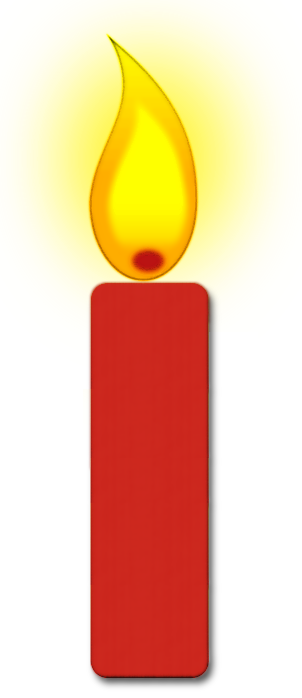 Candle clipart #11