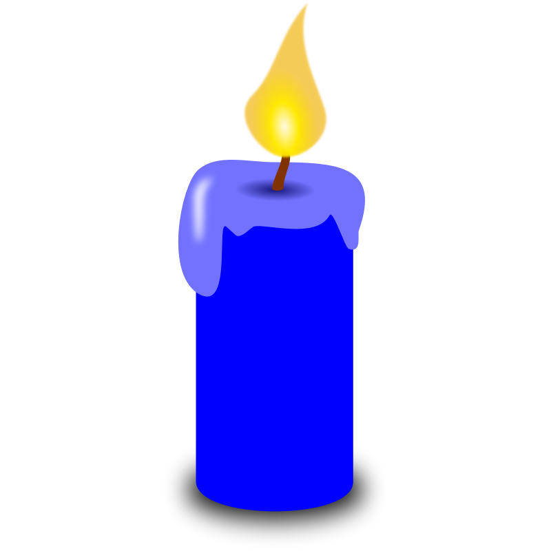 Candle clipart #3