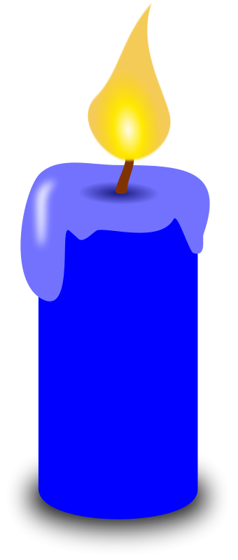 Candle clipart #4