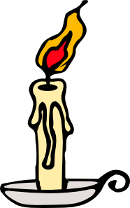 Melting Candle clipart  at Clker online clip
