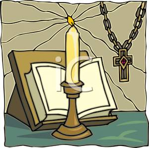 Candle clipart bible Clipart Rosary Candle Candle and