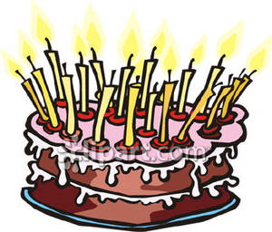 Candle clipart cake candle ClipartFest birthday Happy cake clipart