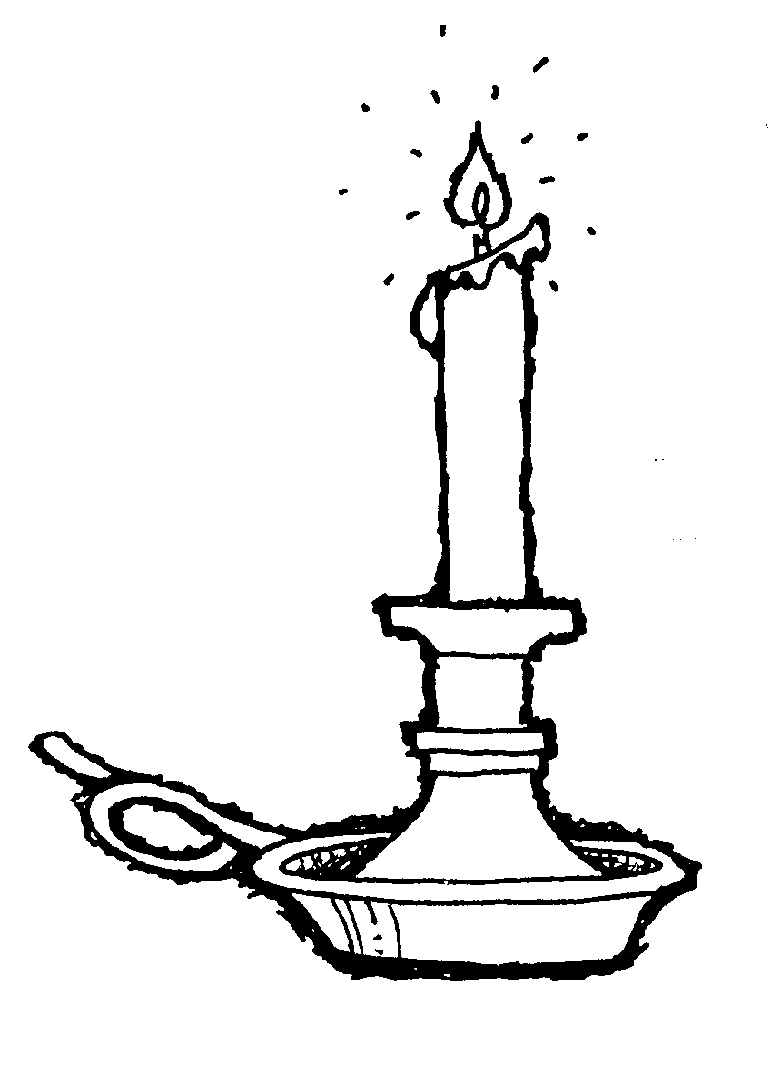 Candle clipart candlestick  Clipart Panda White Clipart