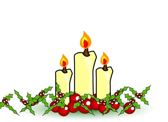 Candle clipart carol by candlelight For clip service Clipart Christmas