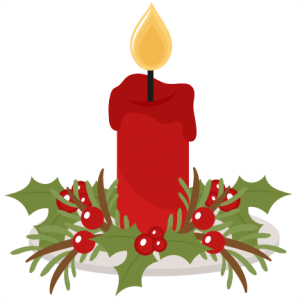 Candle clipart flashlight Free cute svg clipart Christmas