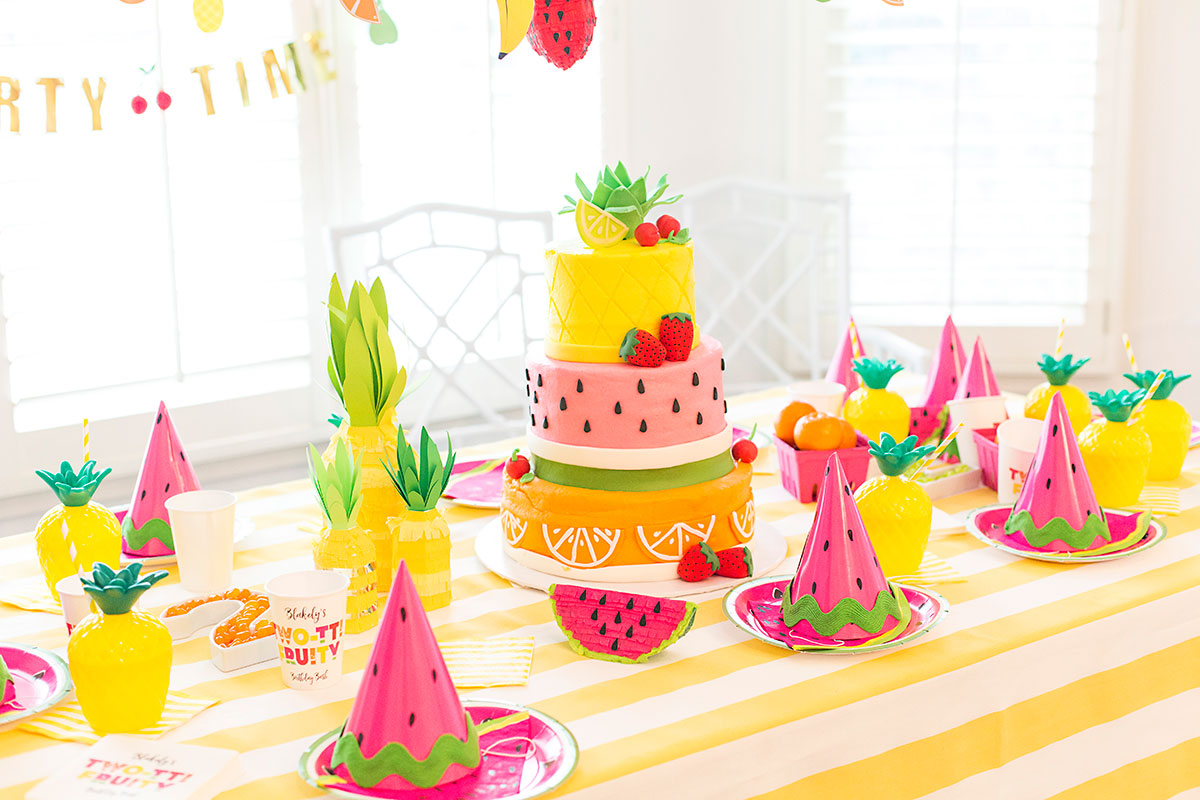 Candle clipart party table Tti Fruity Two Turns tti