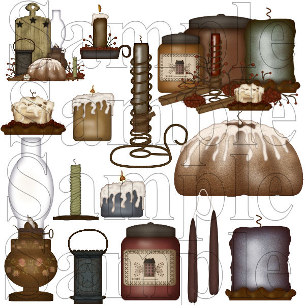 Candle clipart primitive For Candle about Graphics www
