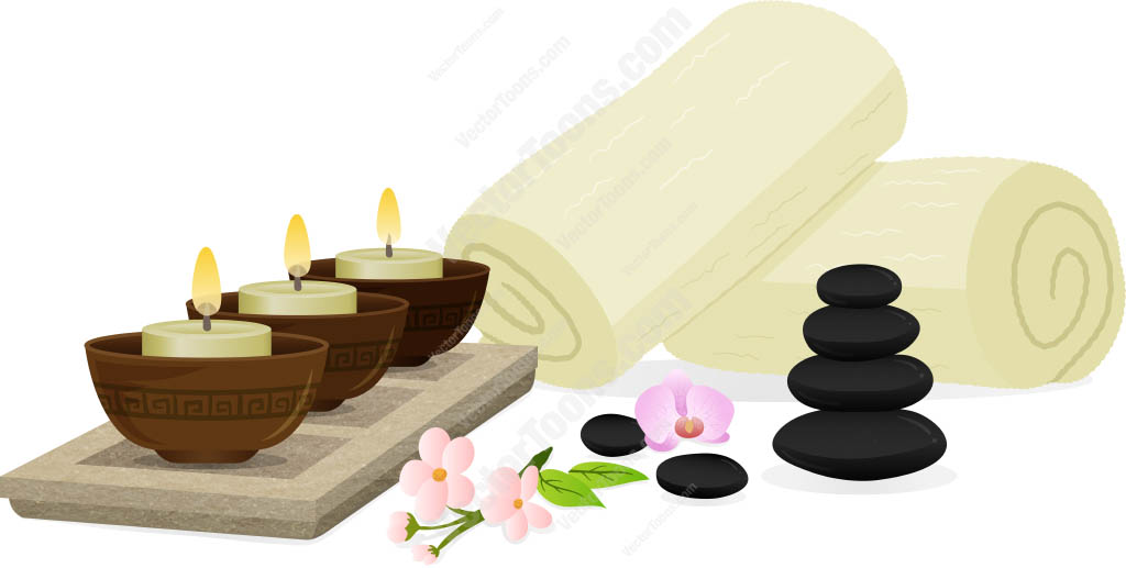 Candle clipart spa Clipart Free Download Art candles