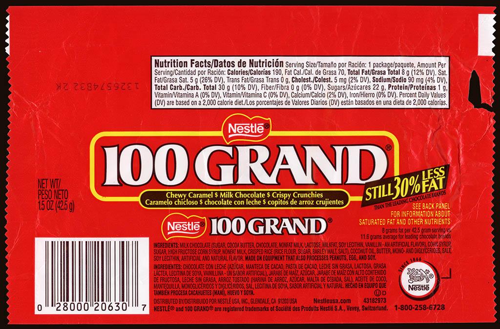 Candy Bar clipart 100 grand — Crafthubs bar – Nestle