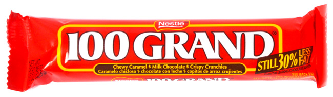 Candy Bar clipart 100 grand A Bars heist and a