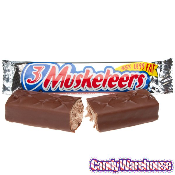 Candy Bar clipart 3 musketeer 3 candy 3 Official bar