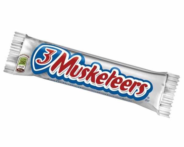 Candy Bar clipart 3 musketeer 54 Pinterest 1932 M&M Musketeers