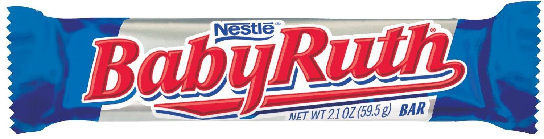 Candy Bar clipart baby ruth Candy General List Celiac Foundation