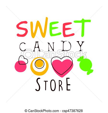 Candy Bar clipart candy store Logo Sweet Colorful candy Sweet